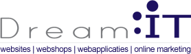 Dream IT - websites - webshops - webapplicaties - online marketing